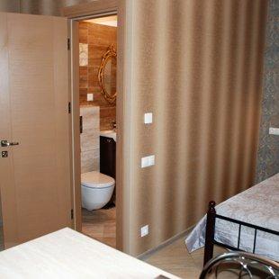 Skats uz vannas istabu