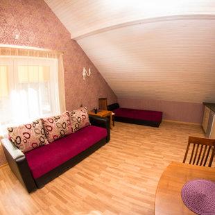 Фиолетовый апартамент
